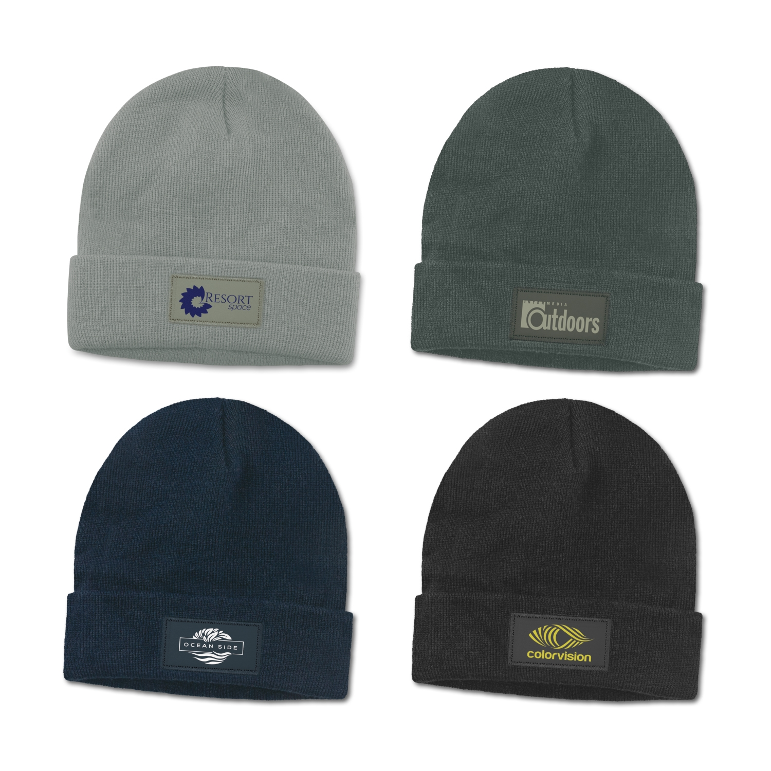 Everest Beanie with Patch