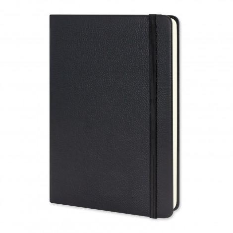 Moleskine® Leather Hard Cover Notebook - Large