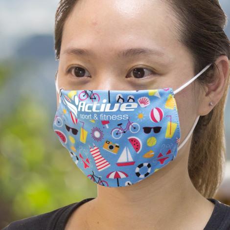 Reusable Face Mask Full Colour - Small