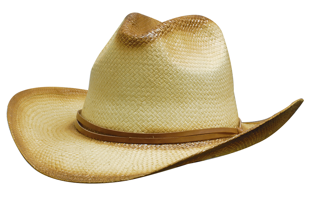 Sprayed Cowboy Straw Hat