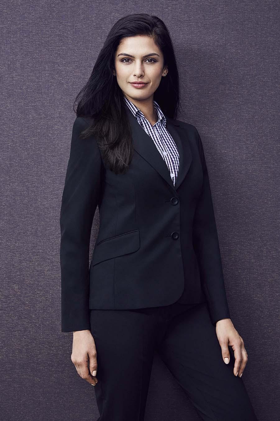 Womens Short-Mid Length Jacket