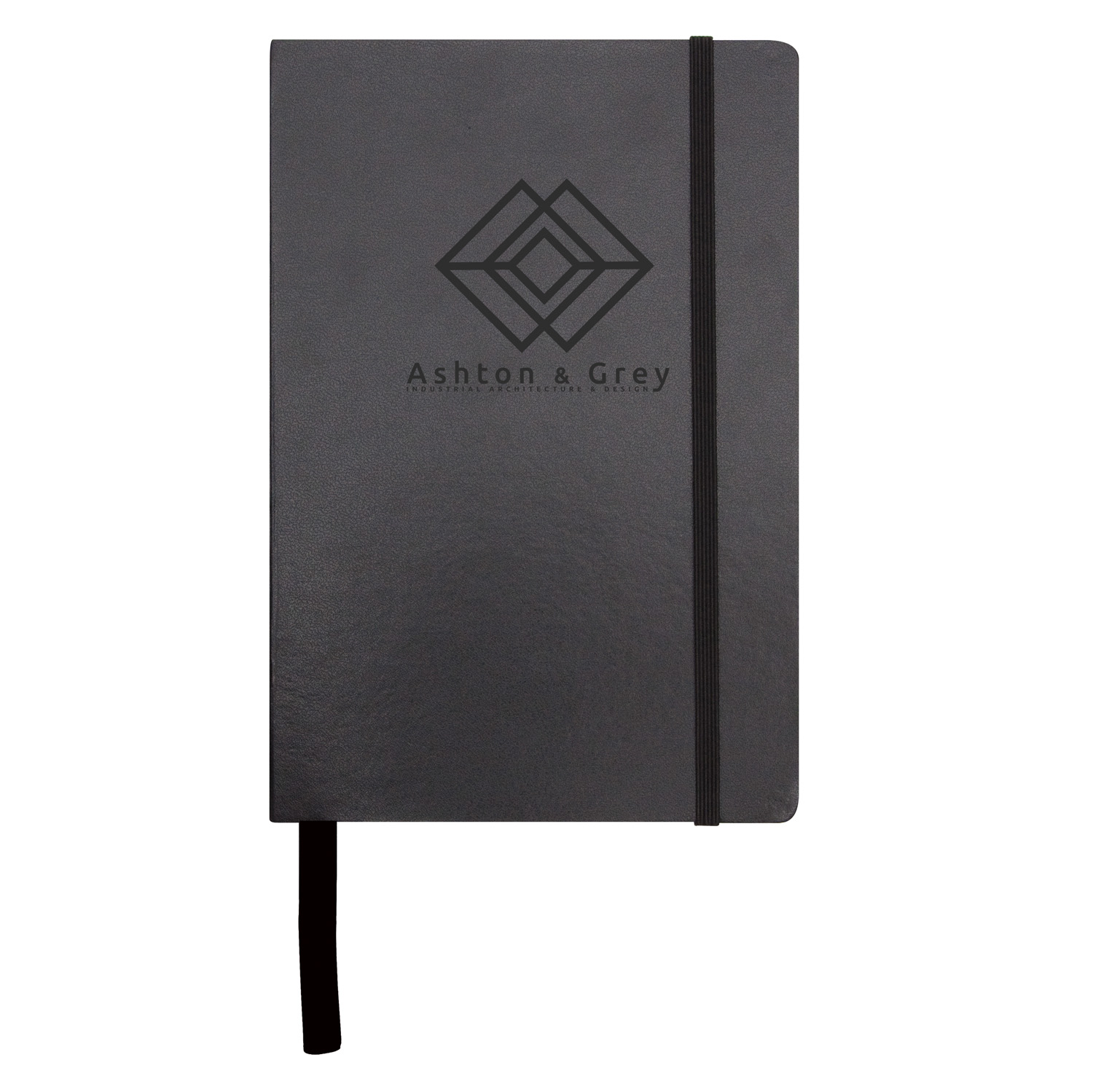 City A4 Notebook - Black