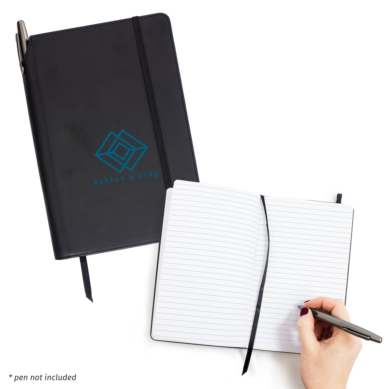 Executive A5 Notebook With Pen Holder