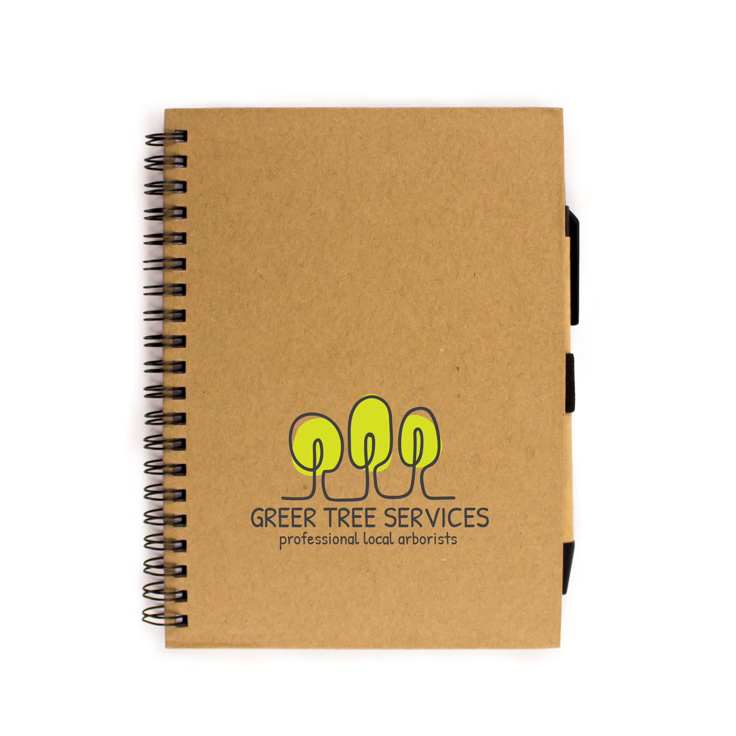 Eco Kraft Notebook Combo