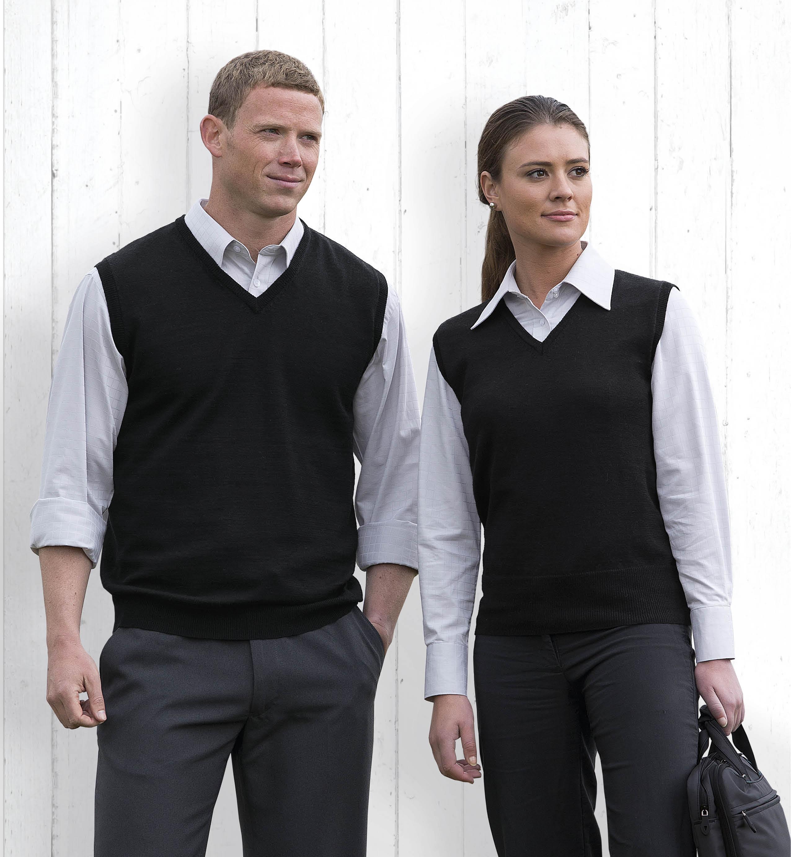 Merino Fully Fashioned Vest - Womens