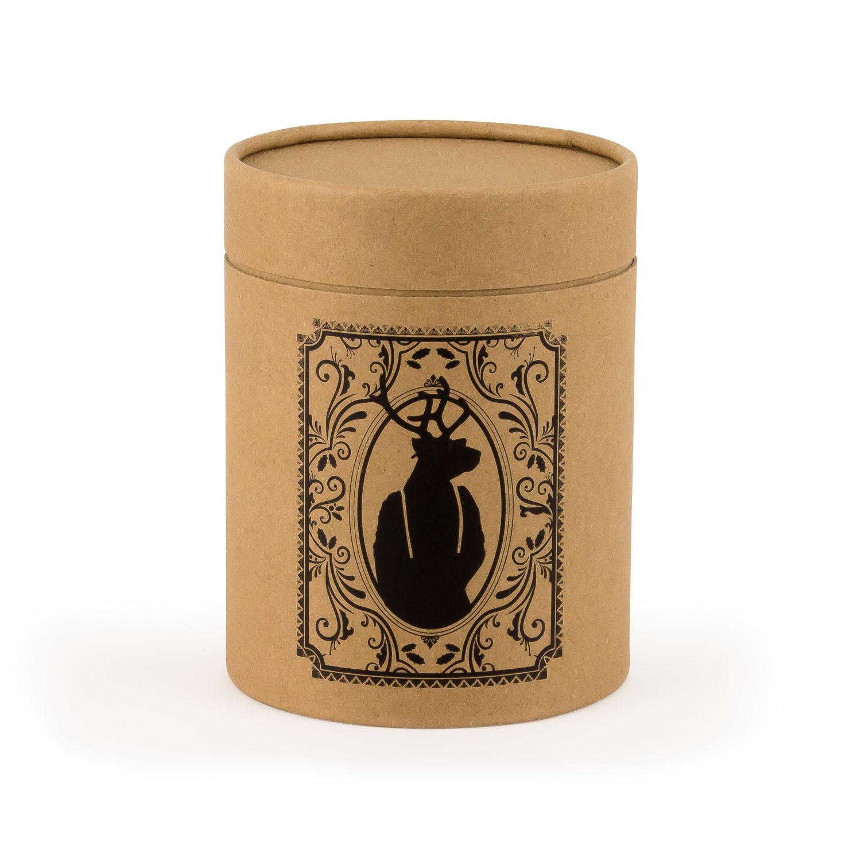 Card Tube Gift Box - Natural